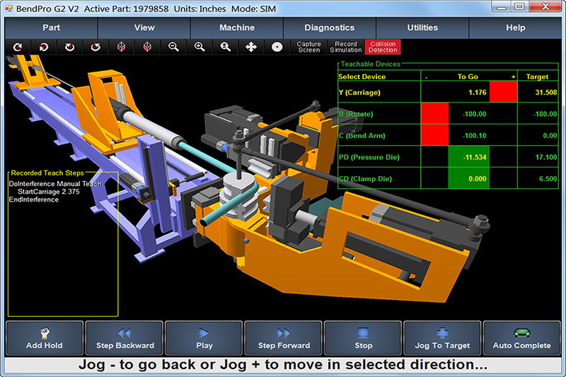 CNC Tube Bender Software